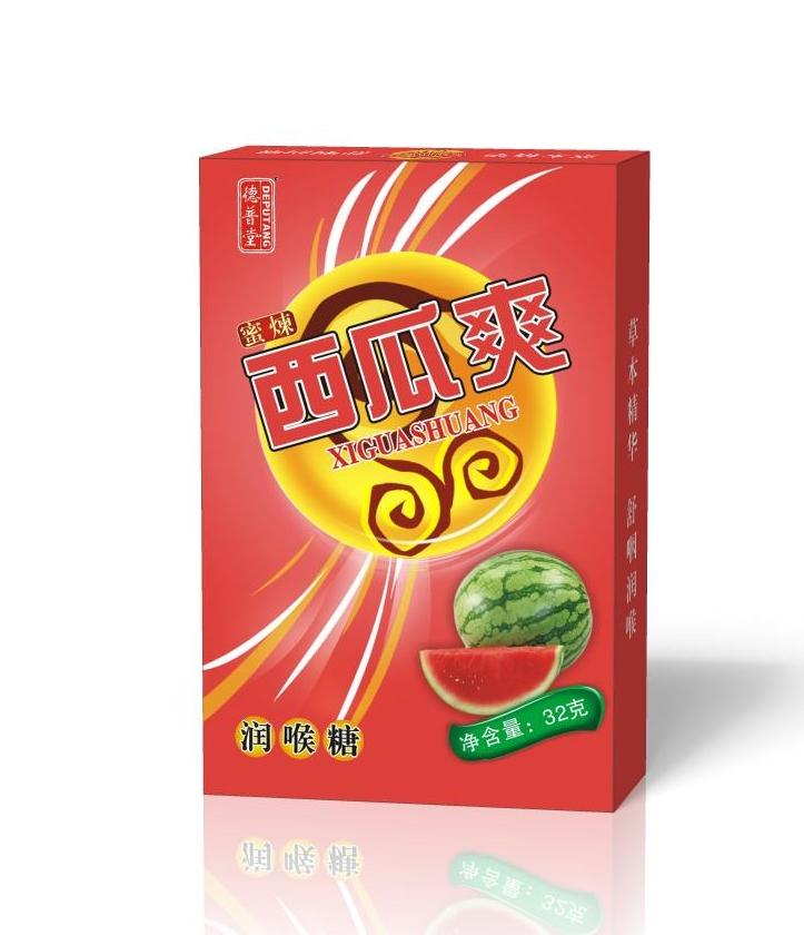 蜜炼西瓜爽润喉糖含片
