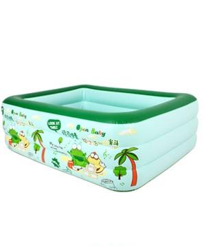 欧培绿豆蛙戏水池180cm