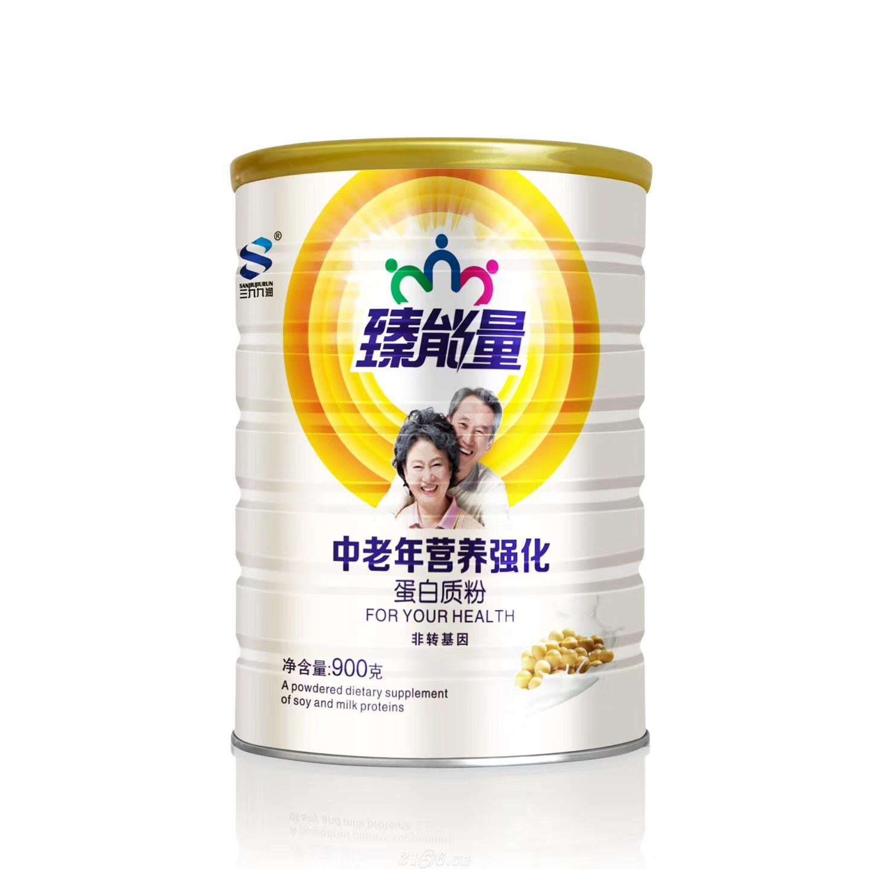 臻能量中老年營養強化蛋白質粉