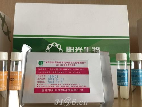 革兰阳性需氧球菌类细菌生化药敏检测卡及生化药敏培养液