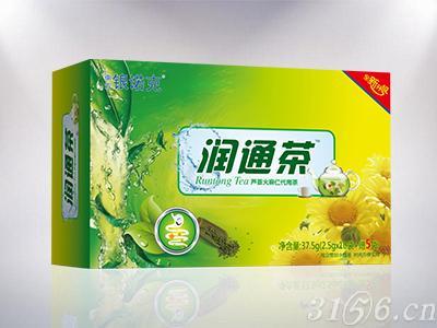 润通茶 芦荟火麻仁代用茶