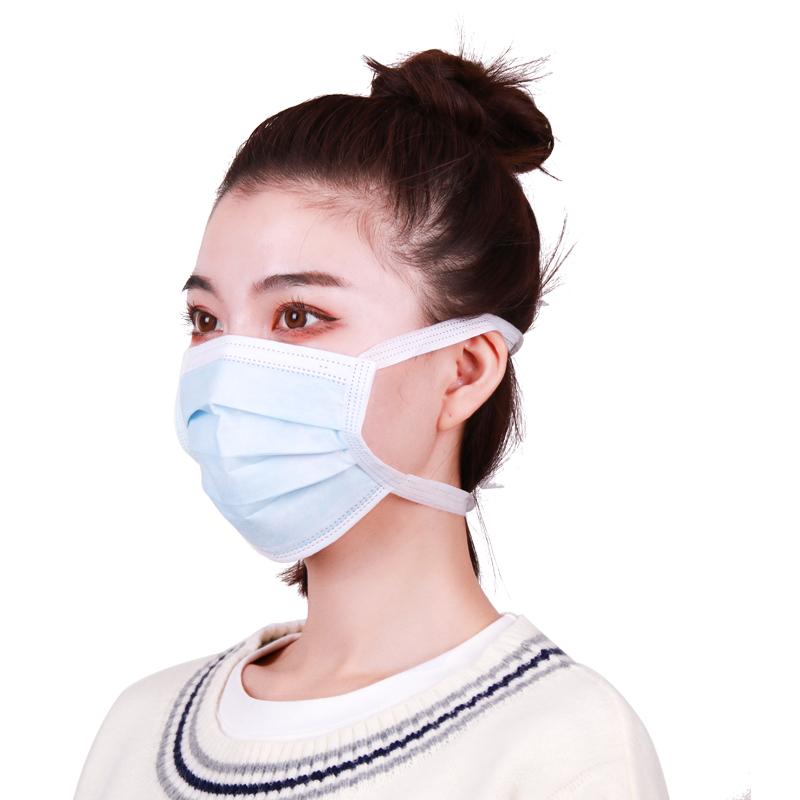 一次性使用医用外科口罩(绑带式)